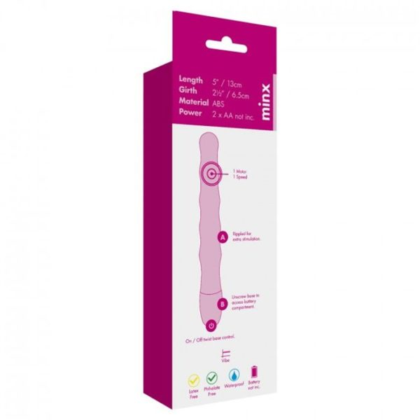 Minx Silky Touch Bullet Vibrator in Purple