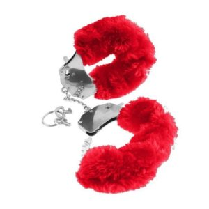 Seven Creations Original Furry Cuffs in Red