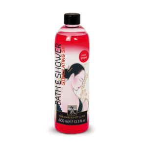 Shiatsu Bath and Shower Stimulating Sin Yuzu Ginger 400ml