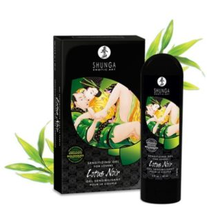 Shunga Lotus Noir Sensitizing Gel for Lovers 60ml 2 fl. oz.