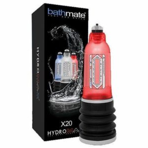 Bathmate Hydromax X20 in Brilliant Red
