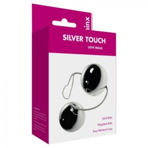 Minx Touch Love Balls in Silver