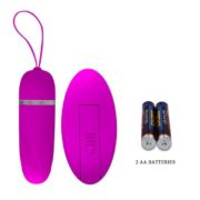 Pretty Love Debby Remote Egg 12 Functions of Vibration in Pink