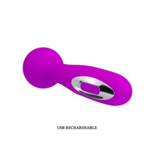 Pretty Love Wade USB Wand Massager in Pink