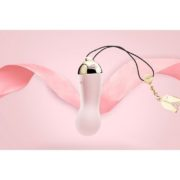 Zalo Baby Star Luxury 18K Gold Plating Bullet Vibrator in Strawberry Pink