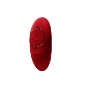 Zalo Jeanne Personal Massager with App Control in Bright Red