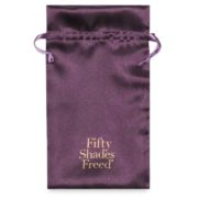 Fifty Shades Freed Collection Desire Blooms Rechargeable Clitoral Vibrator in Purple