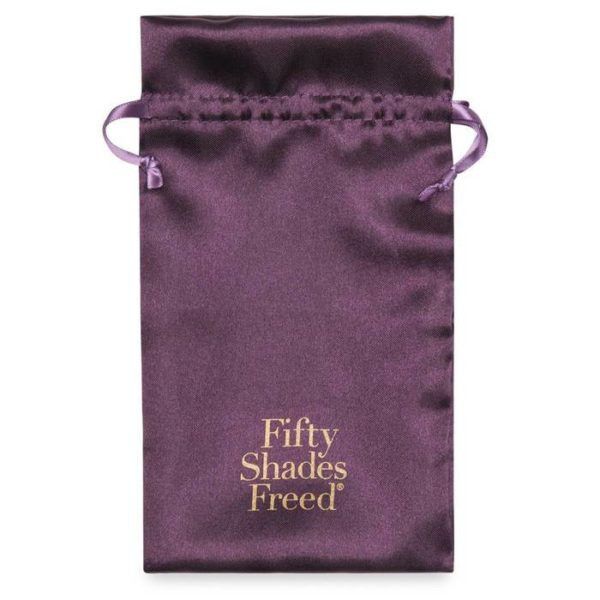 Fifty Shades Freed Collection Feel So Alive USB Rechargeable Vibrating Pleasure Plug in Purple