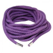 FETISH Fantasy Series Japanese Silk Rope in Purple 35ft