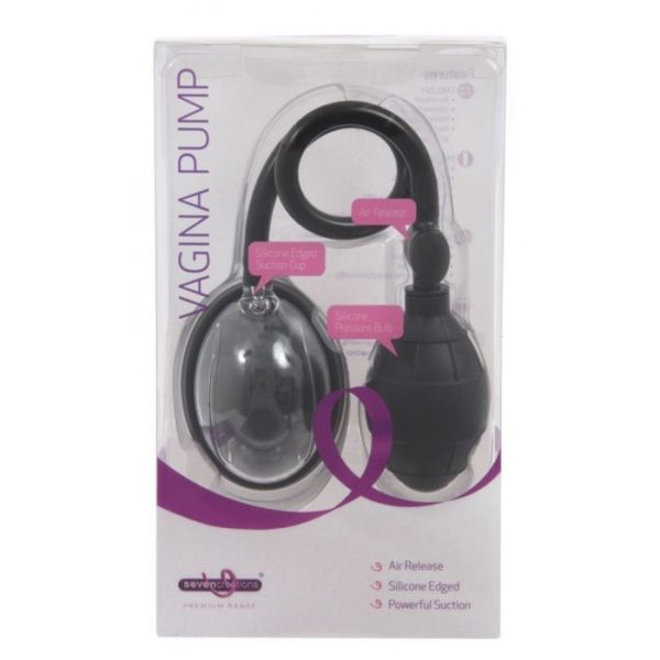 Premium Small Cup Beginners Vagina Pump in Black