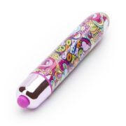 Rocks Off RO-90 Summer Of Love Groovy Baby 10 Function Bullet Vibrator