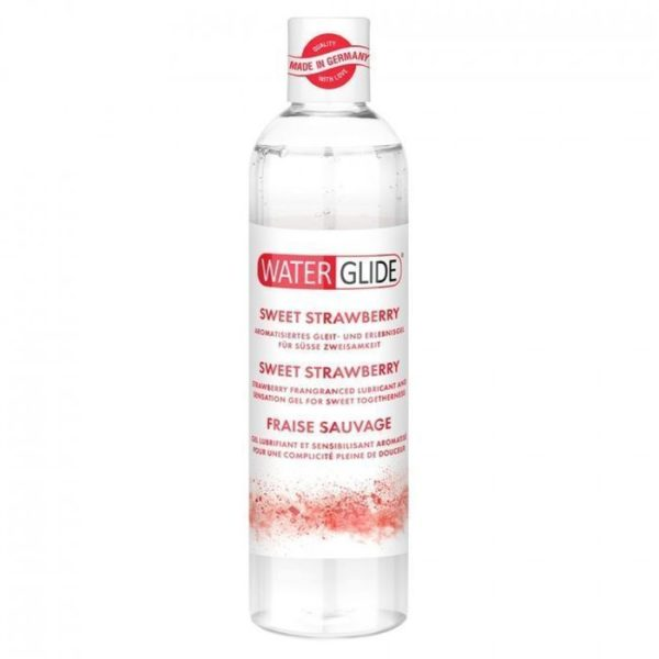 Waterglide Sweet Strawberry Lubricant 300ml