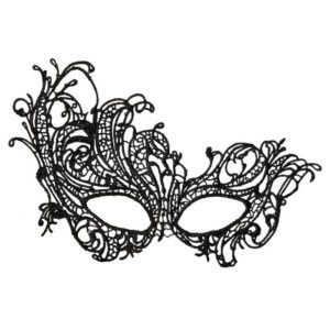 Theatre 708015 Mask in Black