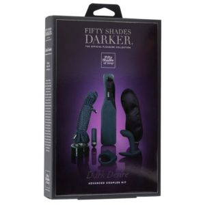 Fifty Shades Darker Dark Desire Advanced Couples Kit 7 Piece