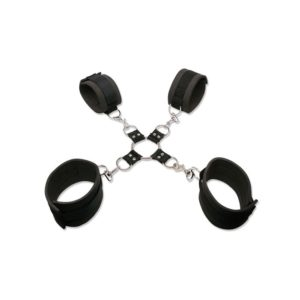 FETISH Fantasy Series Extreme Hog-Tie Kit in Black