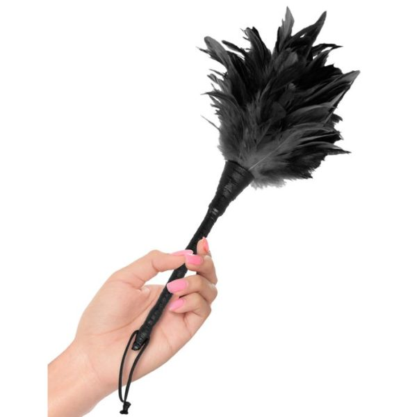 FETISH Fantasy Series Frisky Feather Duster in Black