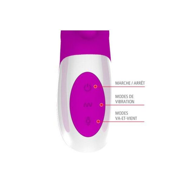 Pretty Love Adrian Rabbit Vibrator Up&Down Motion Rechargeable