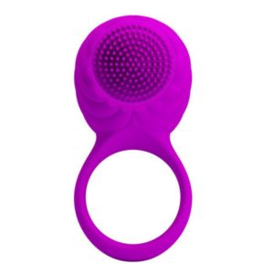 Pretty Love Florence Silicone Rotating and Teaser Rechargeable Cock Ring