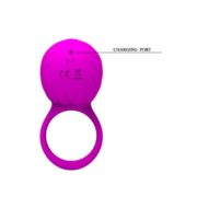 Pretty Love Frances USB Rechargeable Silicone Rotating Teaser Cock Ring