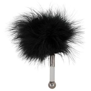 Bad Kitty Mini Feather in Black