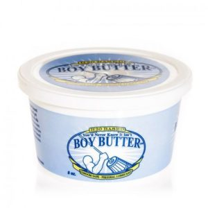 Boy Butter H2O Tub Transparent Water Based Formula 8oz 236ml
