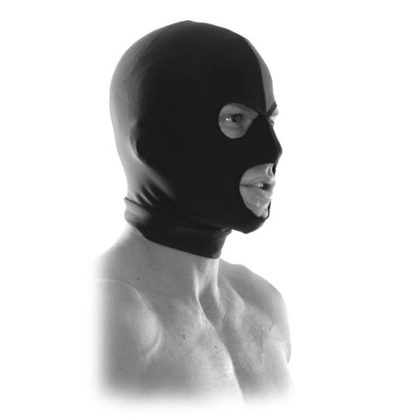 FETISH Fantasy Series Limited Edition Spandex Hood in Black