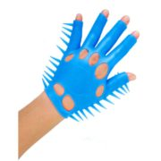 Neon by Pipedream Luv Glove in Blue