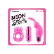 Neon by Pipedream Vibrating Couples Kit in Pink