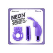 Neon by Pipedream Vibrating Couples Kit in Purple