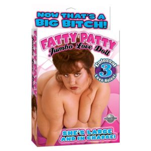 Pipedream Fatty Patty Doll With 3 Love Holes in Flesh