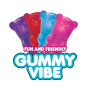 Rock Candy Sex Toys Gummy Vibes Mini-Vibe Assorted