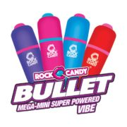 Rock Candy Sex Toys Mega-Mini Bullets Assorted