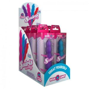 Rock Candy Sex Toys Swirls Vibrators Assorted