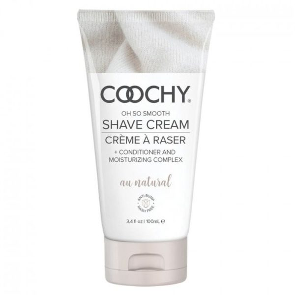 Classic Erotica Coochy Oh So Smooth Shave Cream Au Natural 3.4oz 100ml