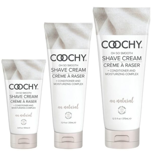 Classic Erotica Coochy Oh So Smooth Shave Cream Au Natural 7.2oz 213ml