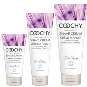 Classic Erotica Coochy Oh So Smooth Shave Cream Floral Haze 3.4oz 100ml