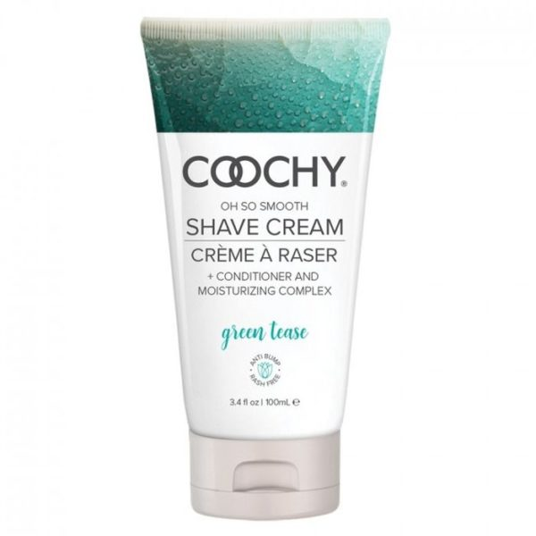 Classic Erotica Coochy Oh So Smooth Shave Cream Green Tease 3.4oz 100ml
