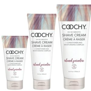 Classic Erotica Coochy Oh So Smooth Shave Cream Island Paradise 3.4oz 100ml