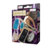 Baile Vibrating Egg with Remote Control in Silver