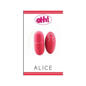 ohh Toys Vibrating Egg Alice in Red