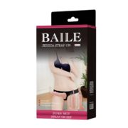 Baile Jessica Rabbit Strap-On with 2 Dildo Ultra Passionate Harness 10.6 cm