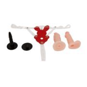 Baile Rabbit Strap-On with 2 Dildo Ultra Passionate Harness 10.6 cm