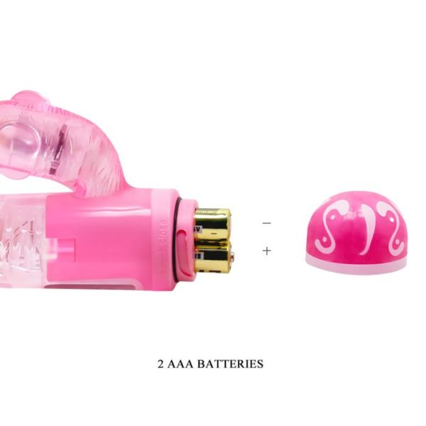 Baile Rabbit Vibe Lovers 10 Vibration Functions in Pink