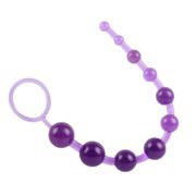 Chisa Novelties Ten Anal Beads Sassy 30 cm in Purple