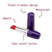 Chisa Novelties Vagina Lipstick Stimulator 9 cm in Purple