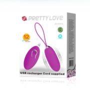 Pretty Love Jenny USB Rechargeable Remote Control Bullet
