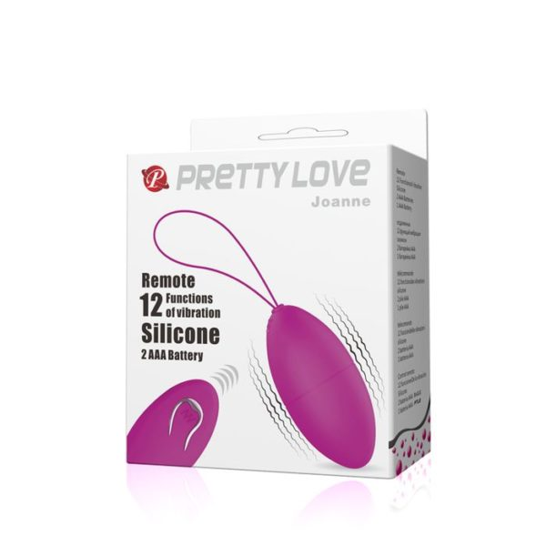 Pretty Love Joanne Remote Control 12 Vibration Functions