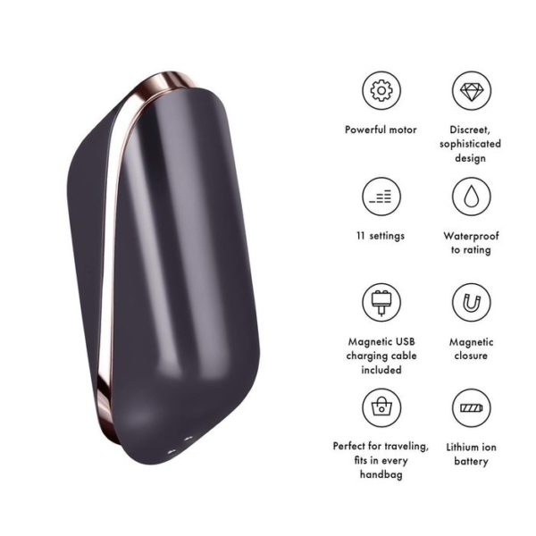 Satisfyer Pro Traveler 11 Settings – Rechargeable Waterproof Fun!
